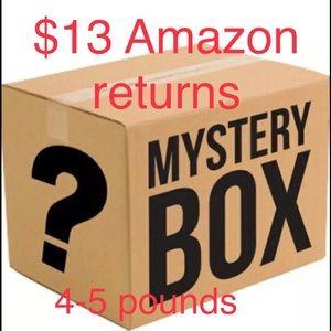 Mystery box Amazon returns load close to 5 lbs
